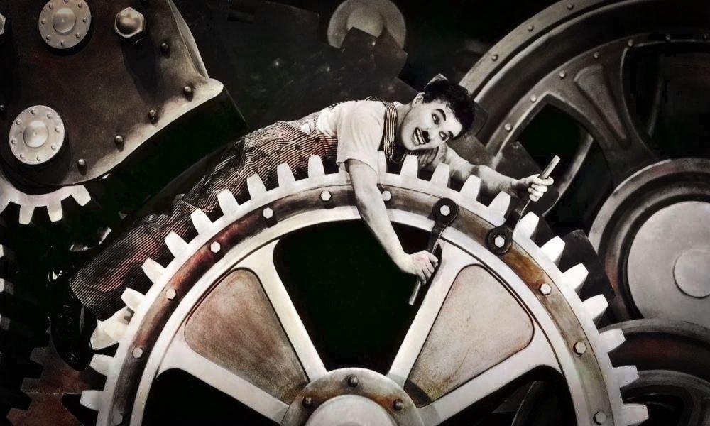 Charlie Chaplin'in Modern Zamanlar Filmi Üzerine